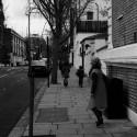 with Nina in London, New Year 2012 / Neopan 1600